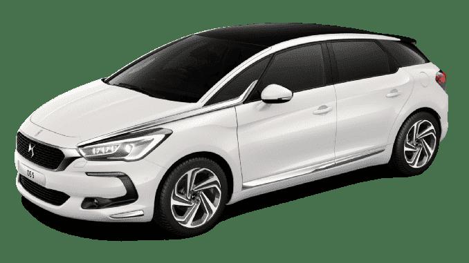 samochód ds biały