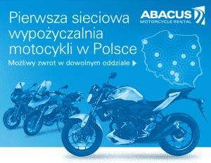 pierwsza sieciowa wypożyczalnia motocykli