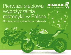 pierwsza sieciowa wypożyczalnia motocykli w polsce
